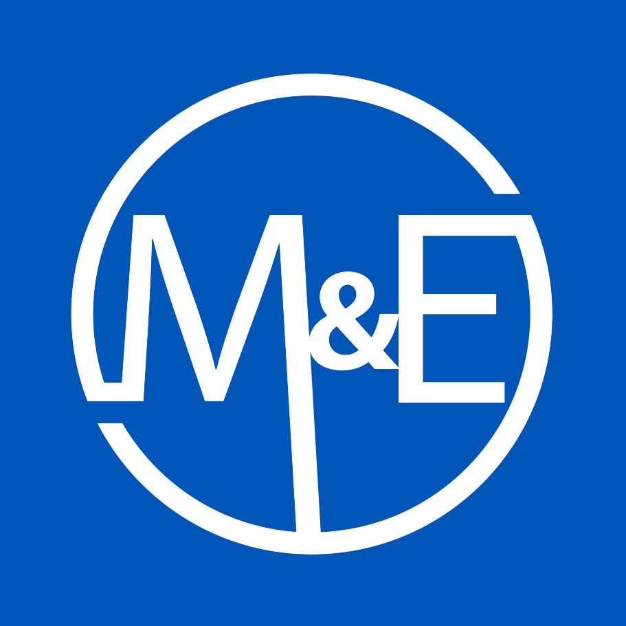 M&E square logo