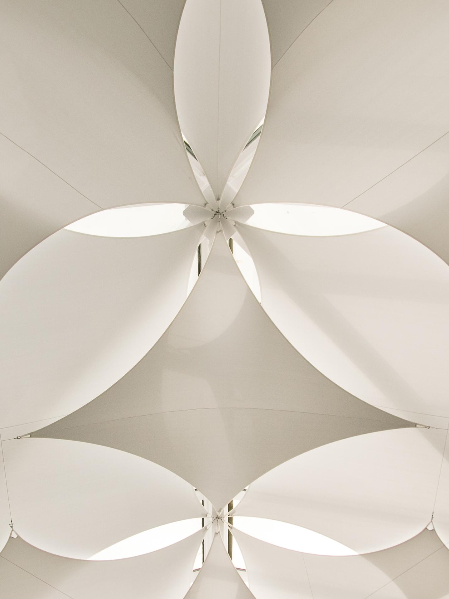 ceiling sails detail